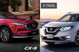 cx5とエクストレイルの比較