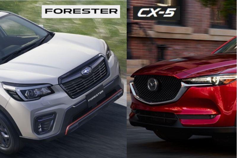 フォレスターとCX-5を比較!どっちがおすすめ?