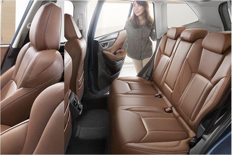 フォレスター新型の後部座席は快適?ライバル車と徹底比較