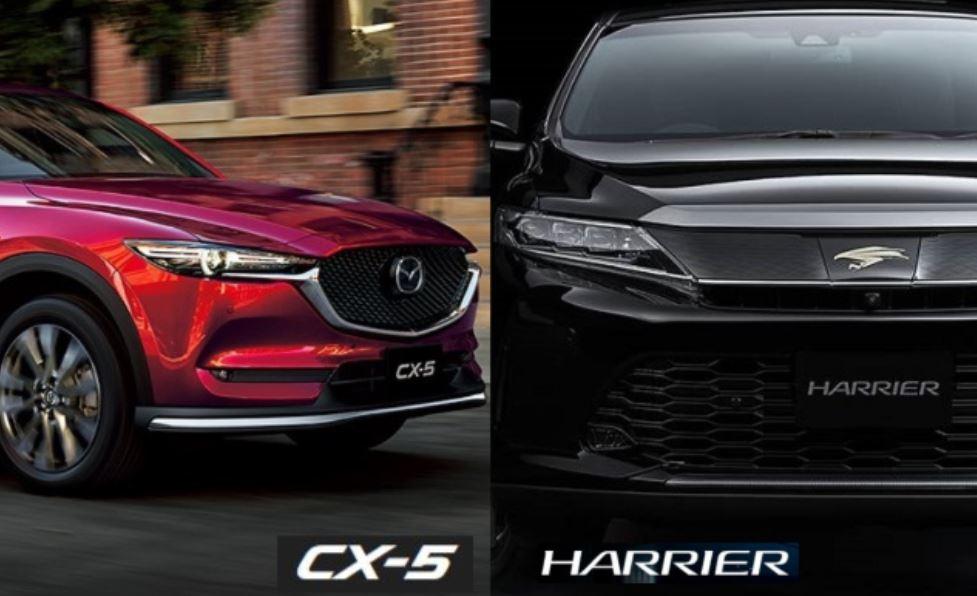 CX-5とハリアーを比較!どっちがおすすめ?